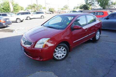 2012 Nissan Sentra for sale at Industry Motors in Sacramento CA