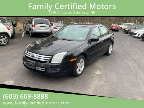2009 Ford Fusion for sale at Family Certified Motors in Manchester NH