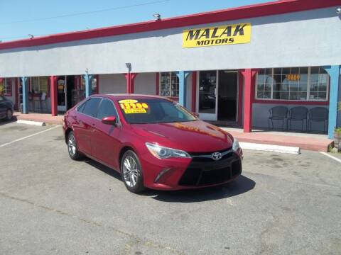 2015 Toyota Camry for sale at Atayas Motors INC #1 in Sacramento CA