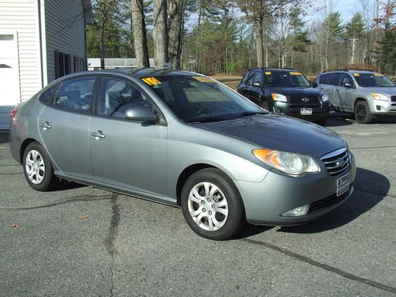 2010 Hyundai Elantra for sale at DUVAL AUTO SALES in Turner ME