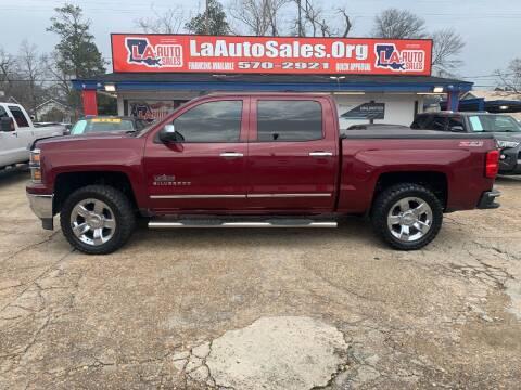2014 Chevrolet Silverado 1500 for sale at LA Auto Sales in Monroe LA