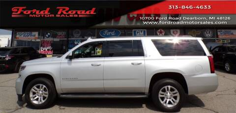 2015 Chevrolet Suburban for sale at Ford Road Motor Sales in Dearborn MI