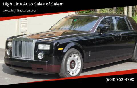 2004 Rolls-Royce Phantom for sale at High Line Auto Sales of Salem in Salem NH