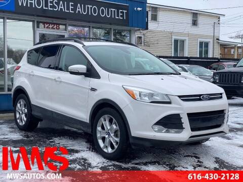 2013 Ford Escape for sale at MWS Wholesale  Auto Outlet in Grand Rapids MI