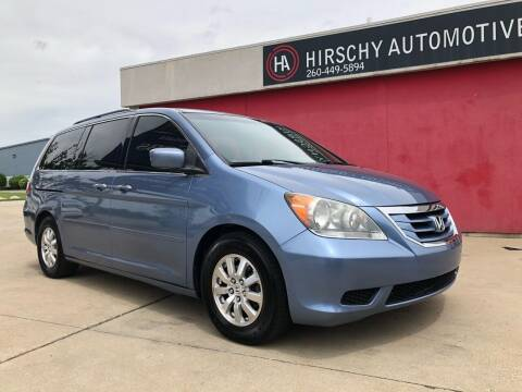 2009 Honda Odyssey for sale at Hirschy Automotive in Fort Wayne IN