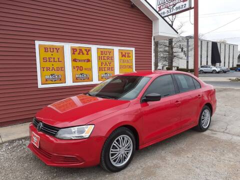 2011 Volkswagen Jetta for sale at Mack's Autoworld in Toledo OH