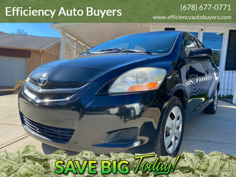 2007 Toyota Yaris for sale at Efficiency Auto Buyers in Milton GA