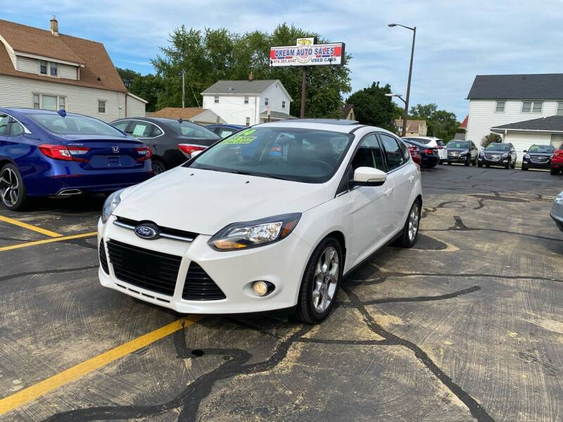 2014 Ford Focus for sale at Dream Auto Sales in South Milwaukee WI