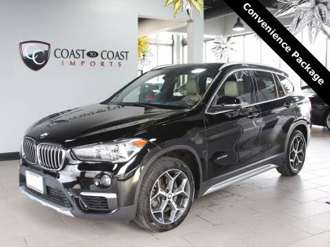 2018 BMW X1 for sale at Coast to Coast Imports in Fishers IN