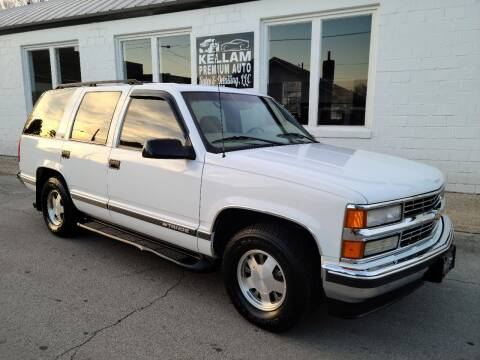 1998 Chevrolet Tahoe for sale at Kellam Premium Auto Sales & Detailing LLC in Loudon TN