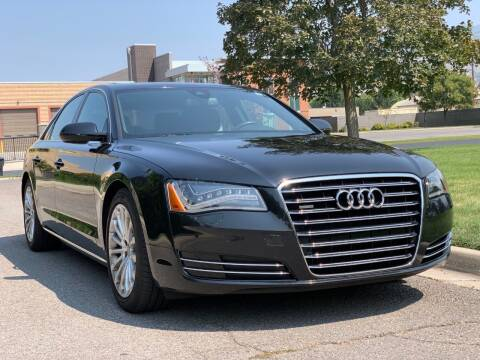2014 Audi A8 for sale at A.I. Monroe Auto Sales in Bountiful UT