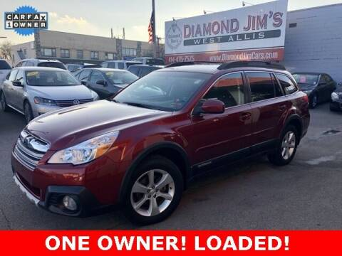 2014 Subaru Outback for sale at Diamond Jim's West Allis in West Allis WI