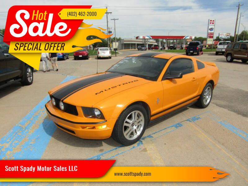 2007 Ford Mustang for sale at Scott Spady Motor Sales LLC in Hastings NE