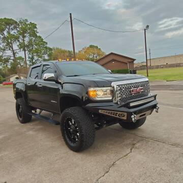 2017 GMC Canyon for sale at MOTORSPORTS IMPORTS in Houston TX