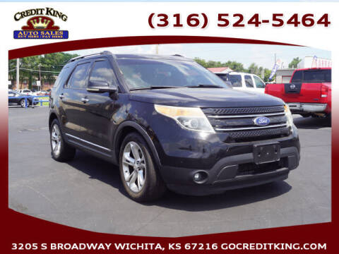 2012 Ford Explorer for sale at Credit King Auto Sales in Wichita KS