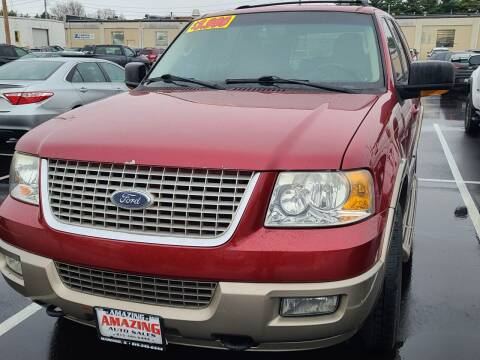 2003 Ford Expedition for sale at AMAZING AUTO SALES in Marengo IL