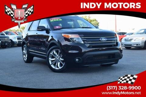 2013 Ford Explorer for sale at Indy Motors Inc in Indianapolis IN