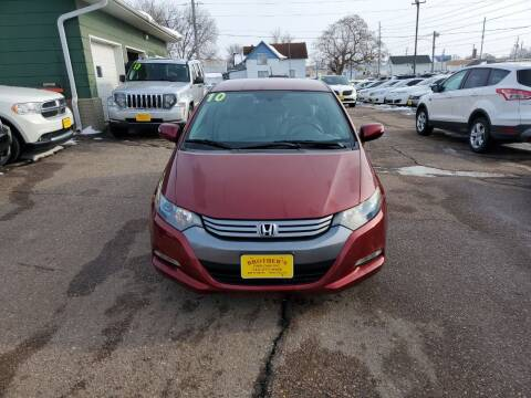 2010 Honda Insight for sale at Brothers Used Cars Inc in Sioux City IA