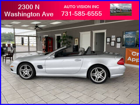 2006 Mercedes-Benz SL-Class for sale at Auto Vision Inc. in Brownsville TN