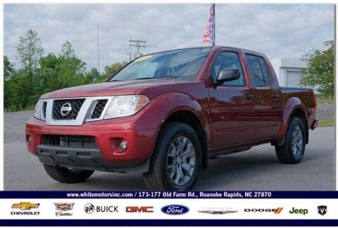 2020 Nissan Frontier for sale at WHITE MOTORS INC in Roanoke Rapids NC
