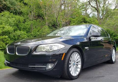 2011 BMW 5 Series for sale at The Motor Collection in Columbus OH