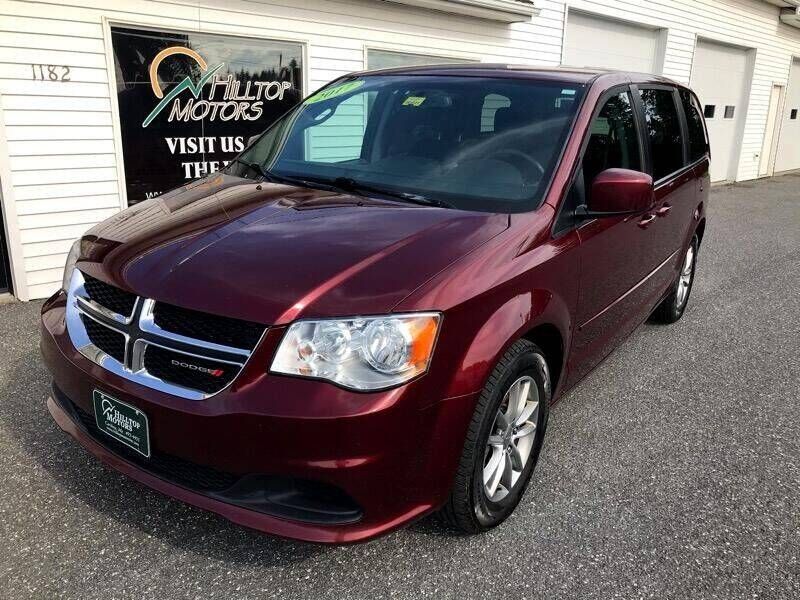 2017 Dodge Grand Caravan for sale at HILLTOP MOTORS INC in Caribou ME