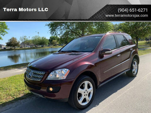2008 Mercedes-Benz M-Class for sale at Terra Motors LLC in Jacksonville FL