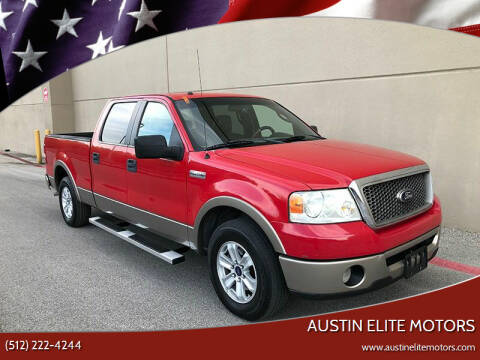 2006 Ford F-150 for sale at Austin Elite Motors in Austin TX