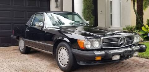 1987 Mercedes-Benz 560-Class for sale at AutoCar Exotics in Medley FL