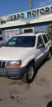 2000 Jeep Grand Cherokee for sale at CABO MOTORS in Chula Vista CA