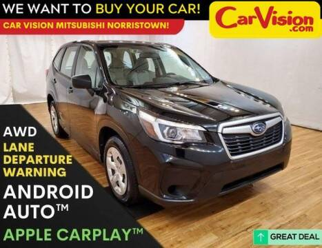 2019 Subaru Forester for sale at Car Vision Mitsubishi Norristown in Trooper PA