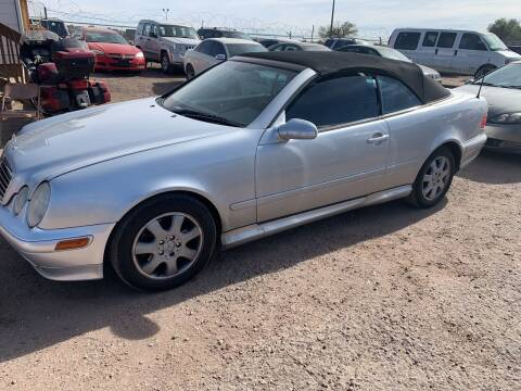 2003 Mercedes-Benz CLK for sale at PYRAMID MOTORS - Fountain Lot in Fountain CO