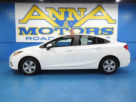 2017 Chevrolet Cruze for sale at ANNA MOTORS, INC. in Detroit MI