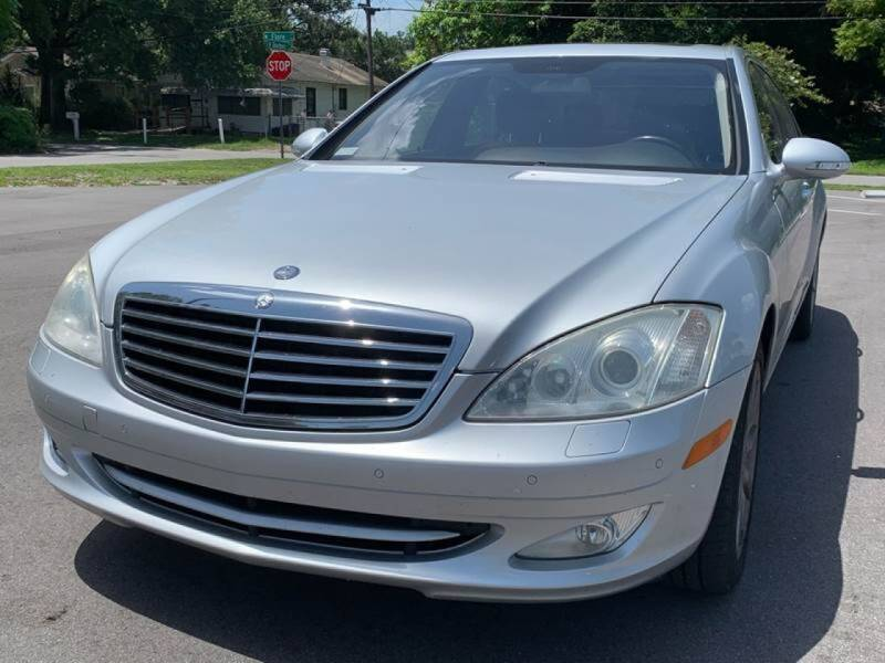 2007 Mercedes-Benz S-Class for sale at Consumer Auto Credit in Tampa FL