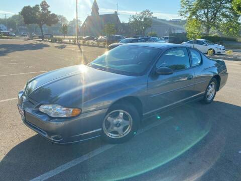 2004 Chevrolet Monte Carlo for sale at Your Car Source in Kenosha WI