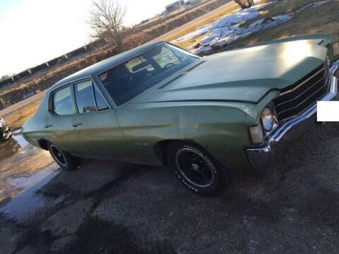 1972 Chevrolet Malibu for sale at Haggle Me Classics in Hobart IN