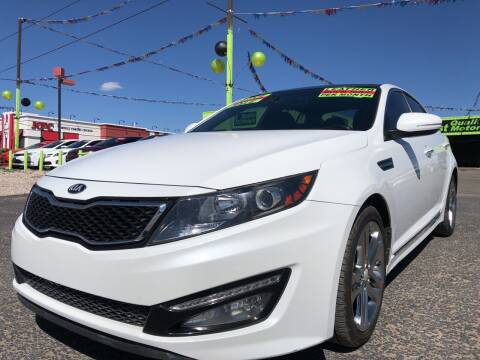 2013 Kia Optima for sale at 1st Quality Motors LLC in Gallup NM