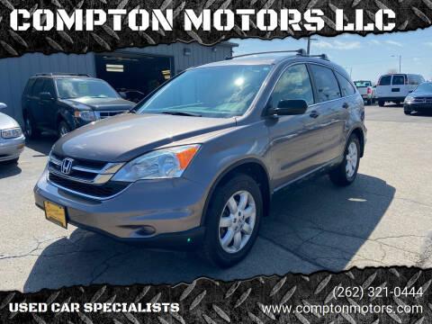 2011 Honda CR-V for sale at COMPTON MOTORS LLC in Sturtevant WI