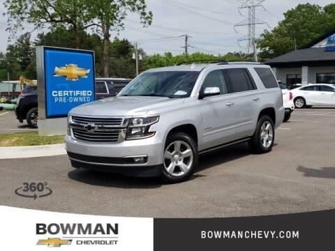 2019 Chevrolet Tahoe for sale at Bowman Auto Center in Clarkston MI