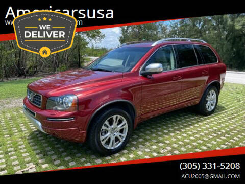 2013 Volvo XC90 for sale at Americarsusa in Hollywood FL