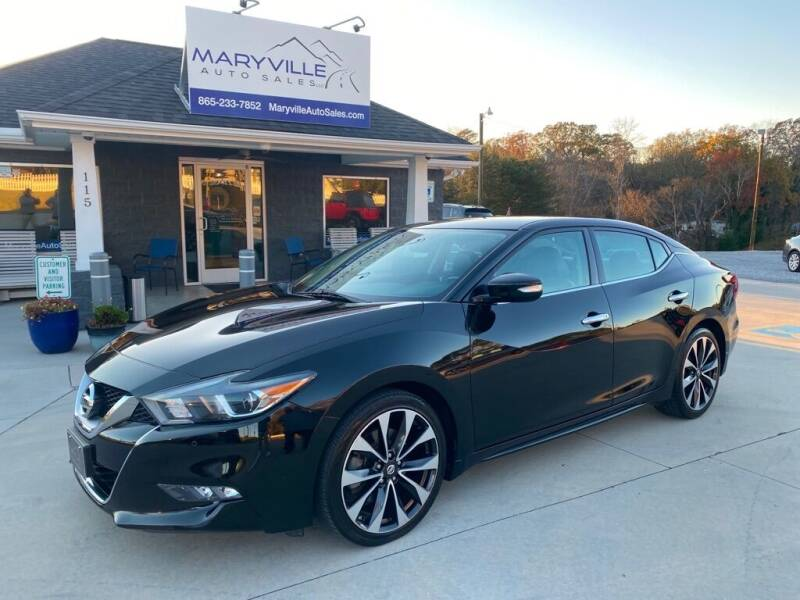 2016 Nissan Maxima for sale at Maryville Auto Sales in Maryville TN