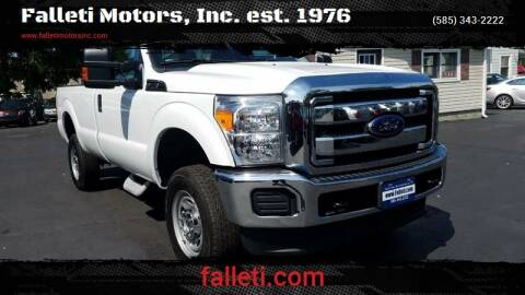 2016 Ford F-250 Super Duty for sale at Falleti Motors, Inc.  est. 1976 in Batavia NY