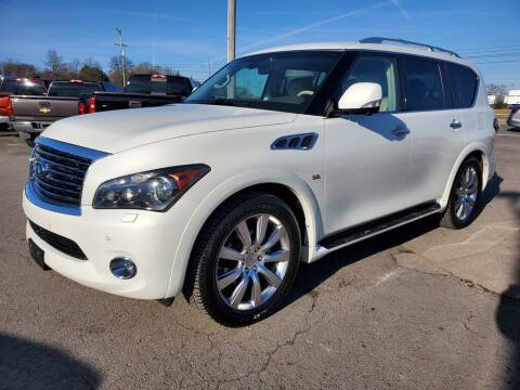 2014 Infiniti QX80 for sale at Southern Auto Exchange in Smyrna TN