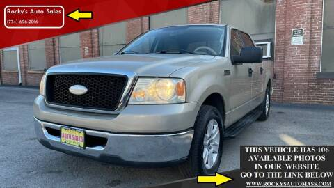 2007 Ford F-150 for sale at Rocky's Auto Sales in Worcester MA