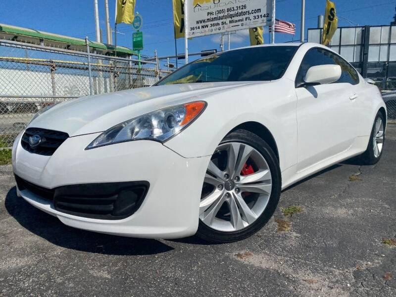 2012 Hyundai Genesis Coupe for sale at MIAMI AUTO LIQUIDATORS in Miami FL