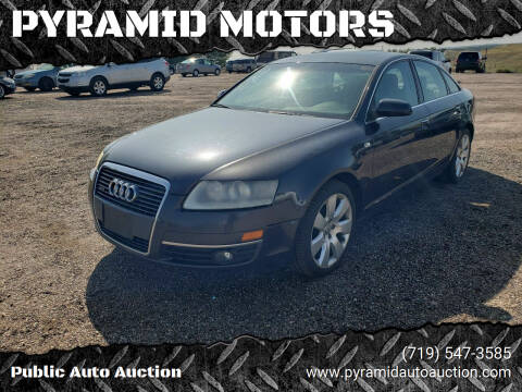 2006 Audi A6 for sale at PYRAMID MOTORS - Pueblo Lot in Pueblo CO