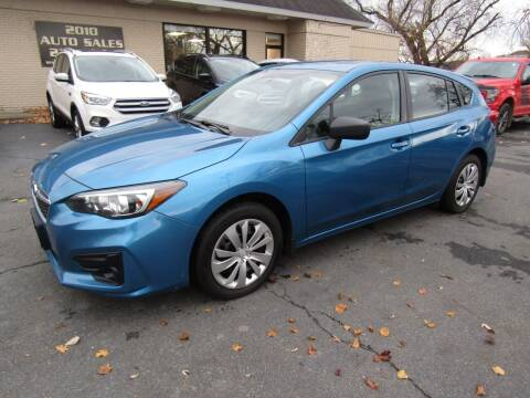 2017 Subaru Impreza for sale at 2010 Auto Sales in Troy NY