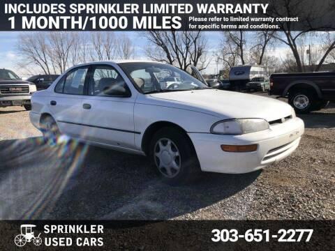 1995 GEO Prizm for sale at Sprinkler Used Cars in Longmont CO