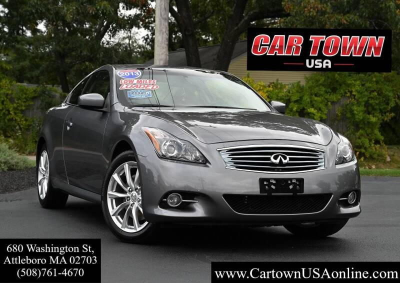 2013 Infiniti G37 Coupe for sale at Car Town USA in Attleboro MA