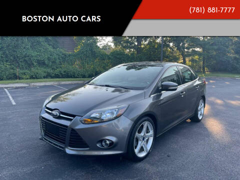 2013 Ford Focus for sale at Boston Auto Cars in Dedham MA